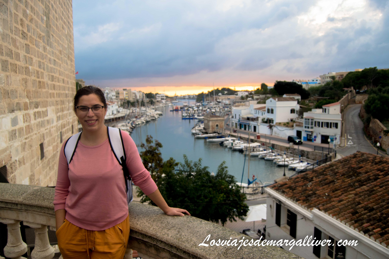 Vistas del puerto de Ciudadela, Menorca en Invierno - Los viajes de Margalliver